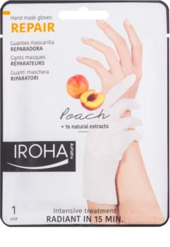 Iroha Repair Peach maska na ruce a nehty