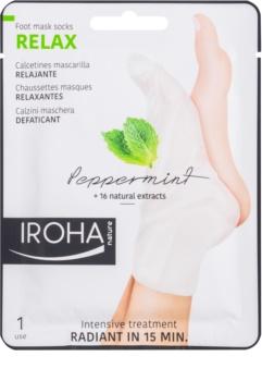 Iroha Relax maschera rinfrescante per i piedi