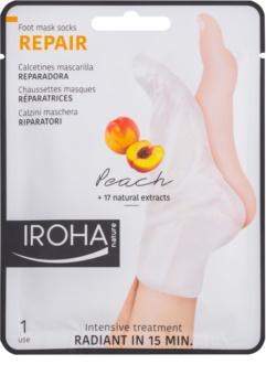 Iroha Repair Peach maschera per i piedi