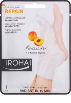 Iroha Repair Peach masque pieds
