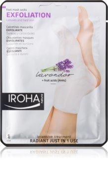 Iroha Exfoliation calzini esfolianti per ammorbidire e idratare la pelle dei piedi