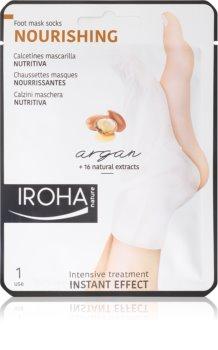 Iroha Nourishing Argan Genoprettende maske til fødder og negle