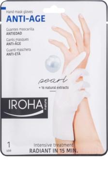 Iroha Anti - Age Pearl maschera ringiovanente per le mani