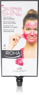 Iroha Talisman Shine Joy masque peel-off pour lisser la peau et réduire les pores