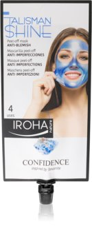 Iroha Talisman Shine Confidence máscara peeling contra imperfeições de pele