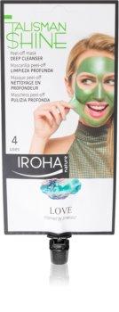 Iroha Talisman Shine Love čisticí slupovací maska