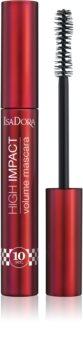 IsaDora 10 Sec High Impact wasserfeste Volumen-Mascara