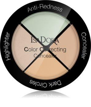 IsaDora Color Correcting Peitevoide Paletti