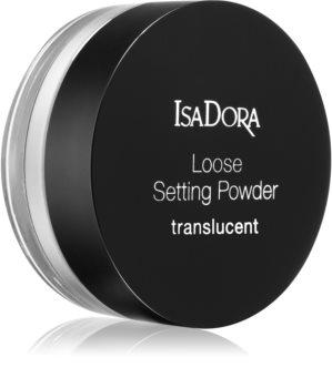 IsaDora Loose Setting Powder Translucent poudre libre transparente
