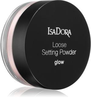IsaDora Loose Setting Powder Glow rozjasňující sypký pudr