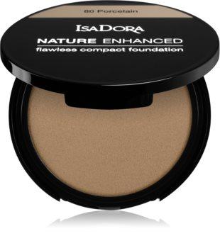 IsaDora Nature Enhanced Flawless Compact Foundation das cremige Kompakt-Make-up