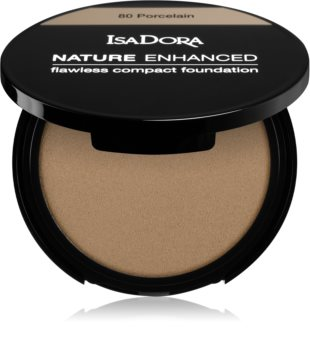 IsaDora Nature Enhanced Flawless Compact Foundation krémes kompakt make-up