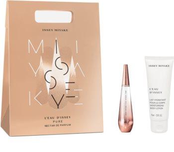 Issey Miyake L'Eau d'Issey Pure Nectar de Parfum coffret cadeau I. pour femme