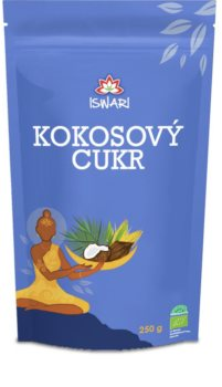 ISWARI Kokosový cukr sladidlo vhodné pro diabetiky s jemnou karamelovou příchutí