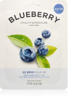 It´s Skin The Fresh Mask Blueberry hydratační plátýnková maska s revitalizačním účinkem