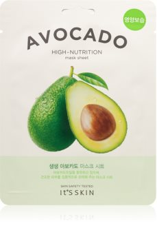 It´s Skin The Fresh Mask Avocado Extra Hydrating and Nourishing Sheet Mask