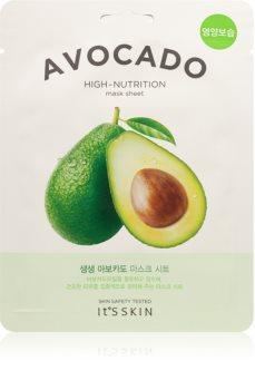 It´s Skin The Fresh Mask Avocado masque tissu extra hydratant et nourrissant