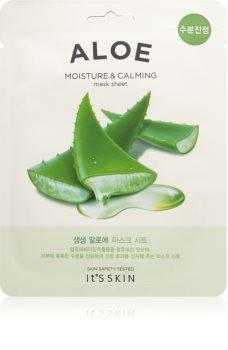 It´s Skin The Fresh Mask Aloe zklidňující plátýnková maska s hydratačním účinkem