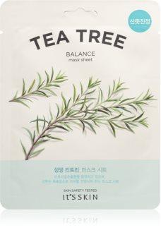 It´s Skin The Fresh Mask Tea Tree revitalizační plátýnková maska pro problematickou pleť, akné