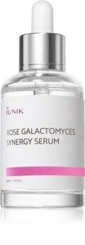 iUnik Rose Galactomyces regenerační a hydratační sérum pro mastnou a problematickou pleť
