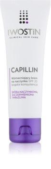 Iwostin Capillin krem wzmacniający na popękane żyłki SPF 20