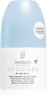 Iwostin Deocare Mineral Antiperspirant Roll-On for Very Sensitive Skin With Minerals