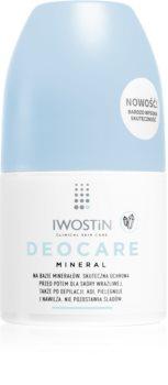 Iwostin Deocare Mineral Antitranspirant-Deoroller für sehr empfindliche Haut mit Mineralien
