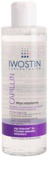 Iwostin Capillin acqua micellare detergente per pelli sensibili con tendenza all'arrossamento