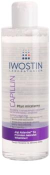 Iwostin Capillin почистваща мицеларна вода за чувствителна кожа със склонност към почервеняване