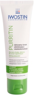 Iwostin Purritin Active Day Cream to Treat Skin Imperfections