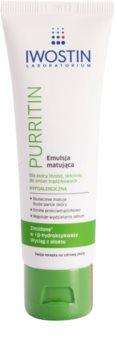 Iwostin Purritin emulsie matifianta pentru tenul gras, predispus la acnee