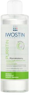 Iwostin Purritin micelární čisticí voda pro mastnou pleť se sklonem k akné