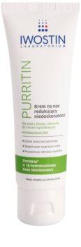 Iwostin Purritin crème de nuit anti-imperfections de la peau