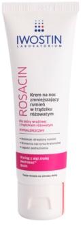 Iwostin Rosacin crème de nuit anti-rougeurs
