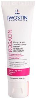 Iwostin Rosacin нощен крем, намаляващ зачервяванията по кожата