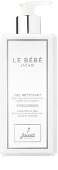 Jacadi Le Bébé emulsión limpiadora  para rostro y cuerpo para la piel del bebé