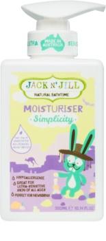 Jack N' Jill Simplicity lait corporel nourrissant pour enfant