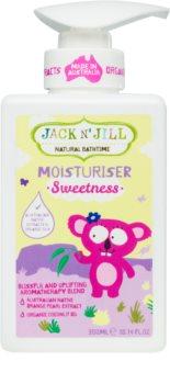 Jack N' Jill Sweetness nährende Body lotion für Kinder
