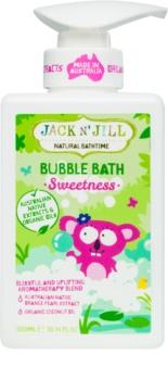 Jack N' Jill Sweetness spuma de baie pentru copii