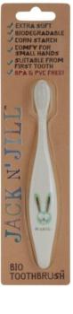 Jack N' Jill Bunny BIO zubní kartáček pro děti extra soft
