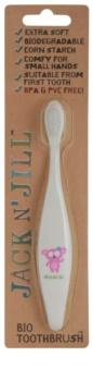 Jack N' Jill Koala Organic Tootbrush for Kids Extra Soft