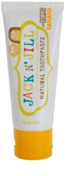 Jack N' Jill Natural Natural Banana-Flavoured Toothpaste for Kids