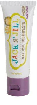 Jack N' Jill Natural prírodná zubná pasta pre deti s príchuťou čiernych ríbezlí
