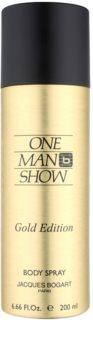 Jacques Bogart One Man Show Gold Edition spray corpo per uomo