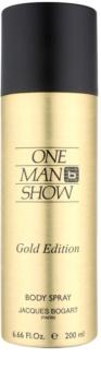 Jacques Bogart One Man Show Gold Edition tělový sprej pro muže
