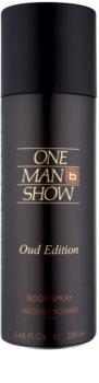Jacques Bogart One Man Show Oud Edition spray corporal para homens 200 ml