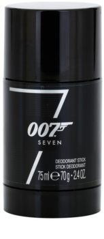 James Bond 007 Seven desodorizante em stick para homens 75 ml