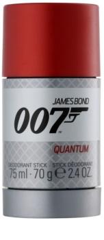 James Bond 007 Quantum desodorizante em stick para homens 75 ml