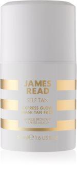 James Read Self Tan máscara facial de bronzeamento com efeito instantâneo