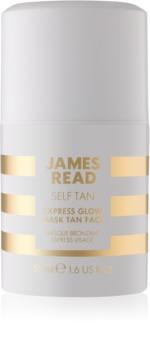 James Read Self Tan maschera autoabbronzante viso effetto immediato